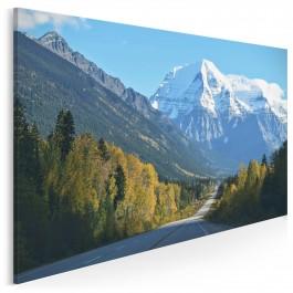 Alpejski sen - fotoobraz na płótnie - 120x80 cm