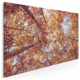 Złota jesień - nowoczesny obraz na płótnie - 120x80 cm