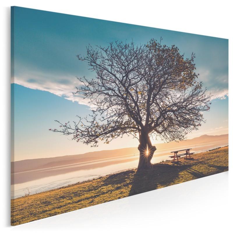 Klucz do szczęścia - zdjęcie na płótnie - 120x80 cm