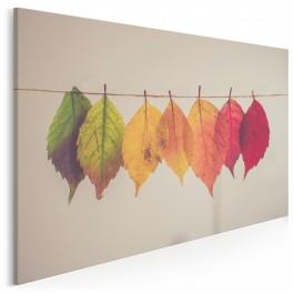 Jesienne porządki - zdjęcie na płótnie - 120x80 cm