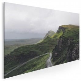 Szlakiem nadziei - nowoczesny obraz na płotnie - 120x80 cm