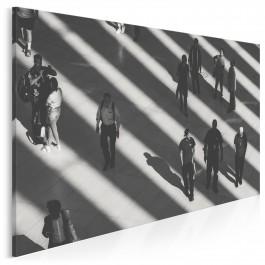 Terminal - nowoczesny obraz na płótnie
