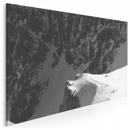 Szlakiem odważnych - fotoobraz do salonu - 120x80 cm