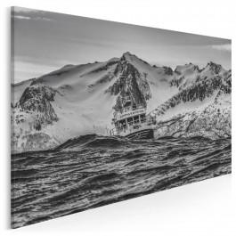 Dziesięć w skali Beauforta - zdjęcie na płótnie - 120x80 cm
