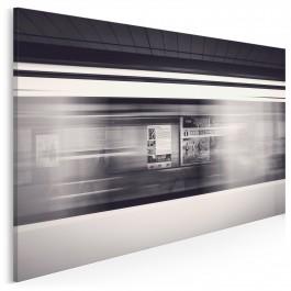 Metro - nowoczesny obraz na płótnie