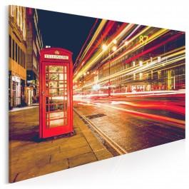 Światła Londynu - fotoobraz do salonu - 120x80 cm