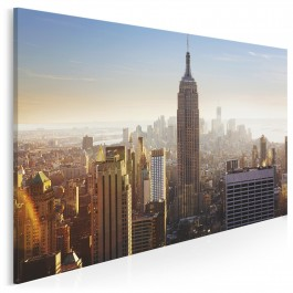 Inspirujący Manhattan - fotoobraz do salonu - 120x80 cm