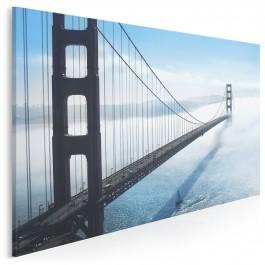 Tajemnica Golden Gate - fotoobraz do sypialni - 120x80 cm