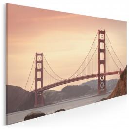 Duma San Francisco - nowoczesny obraz na płótnie - 120x80 cm