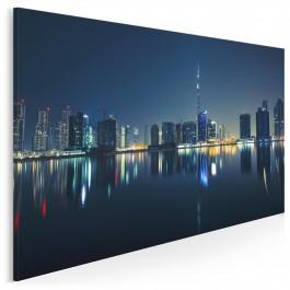 Wieżowce Dubaju - fotografia na płótnie - 120x80 cm