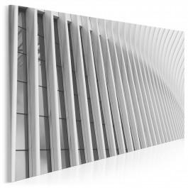 Fasada nowoczesności - fotoobraz do salonu - 120x80 cm