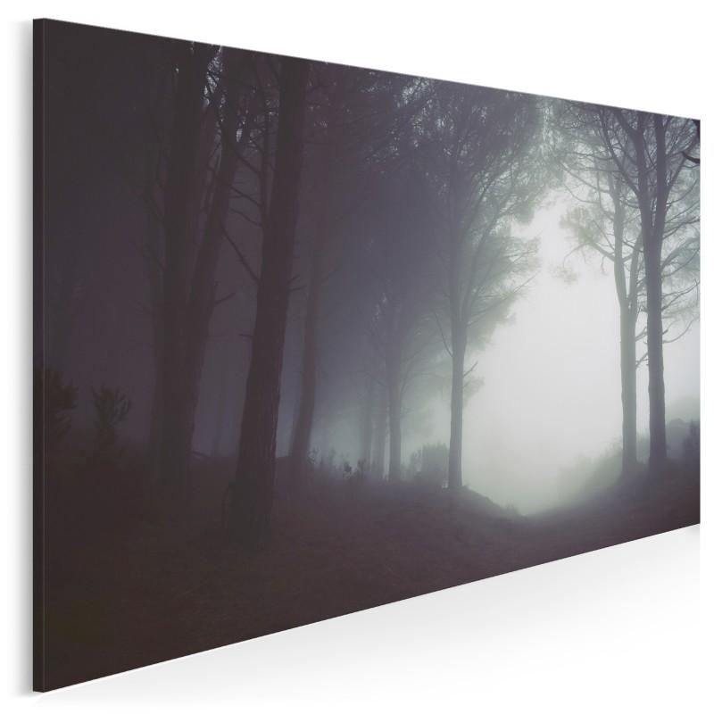 Mgła nad Monte Perone - nowoczesny obraz na płótnie - 120x80 cm