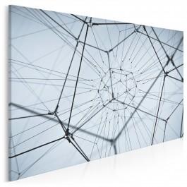 Mapa współzależności - fotografia na płótnie - 120x80 cm