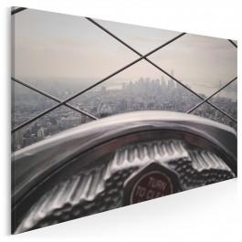 Widok z Empire State Building - nowoczesny obraz na płótnie - 120x80 cm