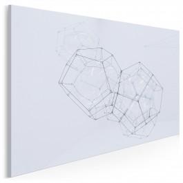 Efemeryczna stałość - nowoczesny obraz na płótnie - 120x80 cm