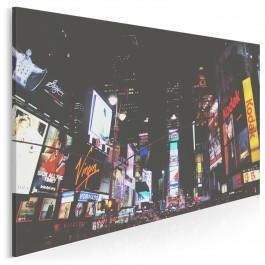 Time Square - nowoczesny obraz na płótnie - 120x80 cm