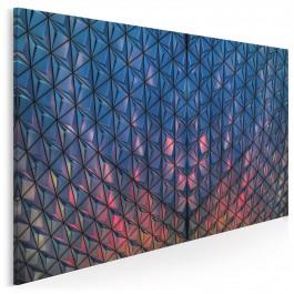 Labirynty świateł - fotografia na płótnie