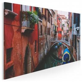 Wenecka gondola - fotoobraz na płótnie - 120x80 cm
