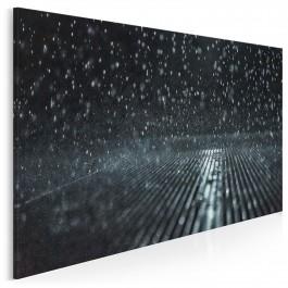 Melodia deszczu - nowoczesny obraz na płótnie