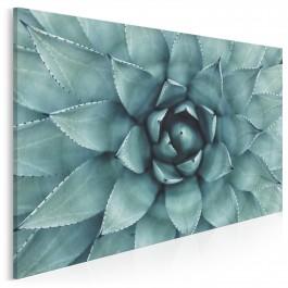 Urokliwość zieleni - nowoczesny obraz na płótnie - 120x80 cm