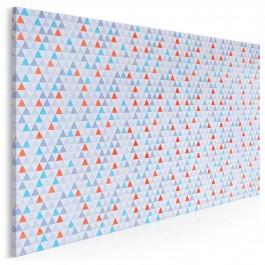 Geometryczny zbiór - fotoobraz do salonu - 120x80 cm