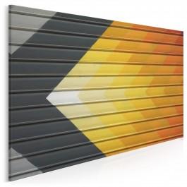 Słoneczny gradient - fotografia na płótnie - 120x80 cm