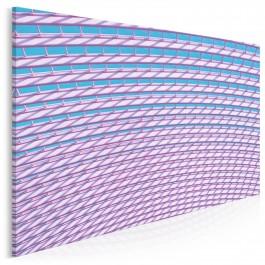 Różowe okulary - nowoczesny obraz na płótnie - 120x80 cm