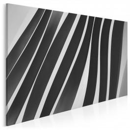 Architektoniczna zebra - fotoobraz do sypialni - 120x80 cm