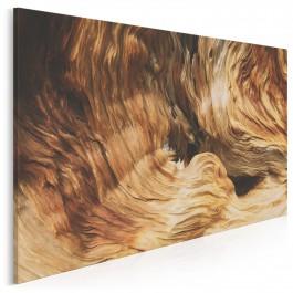 Piękno w drewnie - zdjęcie na płótnie - 120x80 cm