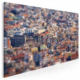 Klimatyczna Barcelona - fotoobraz do sypialni