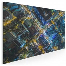 Dachy metropolii - fotoobraz na płótnie