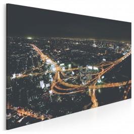 Złota serpentyna Bangkoku - zdjęcie na płótnie