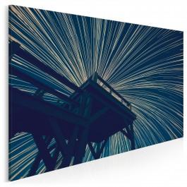 Festiwal świateł - fotoobraz do sypialni - 120x80 cm