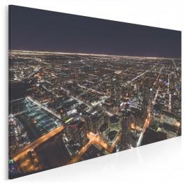 Labirynt świateł - nowoczesny obraz na płótnie