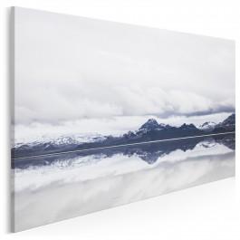Dwa światy - fotoobraz do salonu - 120x80 cm