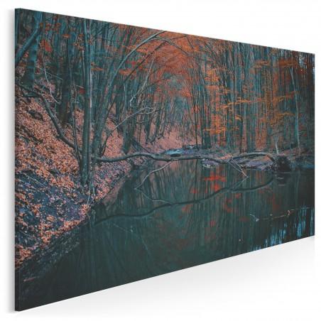 Urokliwy zakątek - zdjęcie na płótnie - 120x80 cm