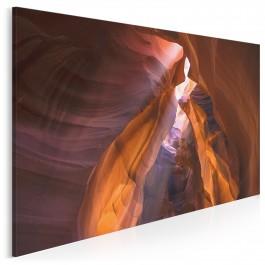 Piaskowcowy kanion - fotoobraz na płótnie - 120x80 cm