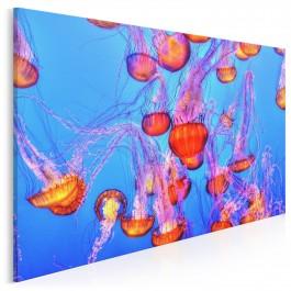 Ryzykowne piękno - nowoczesny obraz na płótnie - 120x80 cm