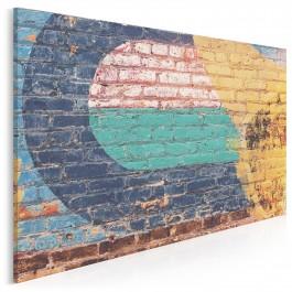Minimalistyczny mural - nowoczesny obraz na płótnie - 120x80 cm