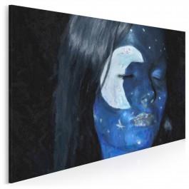 Piękna noc - fotoobraz do sypialni - 120x80 cm