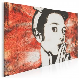 Dziewczyna z sąsiedztwa - zdjęcie na płótnie - 120x80 cm