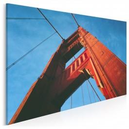 Filary Golden Gate - fotografia na płótnie - 120x80 cm