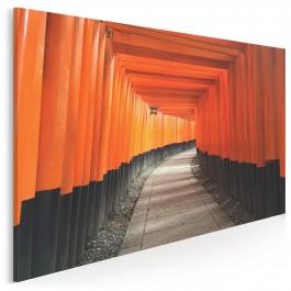 Fushimi-ku - fotoobraz do sypialni - 120x80 cm