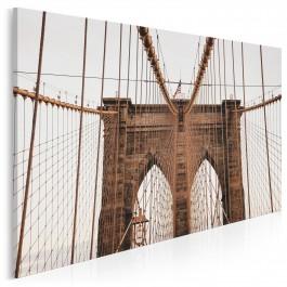 Most Brookliński - zdjęcie na płótnie - 120x80 cm