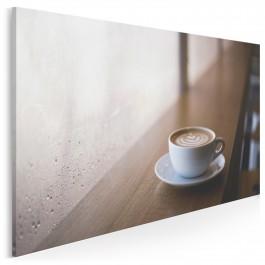 Latte macchiato - fotoobraz do kuchni - 120x80 cm