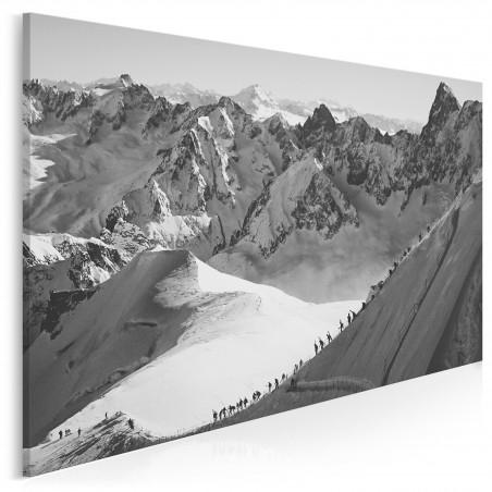 Górski szlak - nowoczesny obraz na płótnie - 120x80 cm