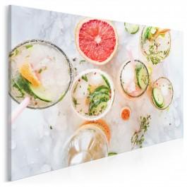 Orzeźwiające smoothie - fotoobraz do kuchni - 120x80 cm