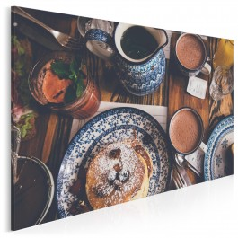 Rodzinny dom - fotoobraz do kuchni - 120x80 cm