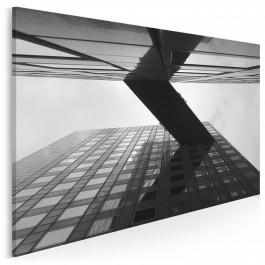 Własnymi ścieżkami - nowoczesny obraz na płótnie - 120x80 cm