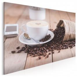 Serce kawosza - fotoobraz do kuchni - 120x80 cm